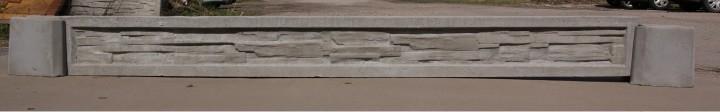 Podmurówka wzór 37. Wysokość 20cm, 25cm, 30cm