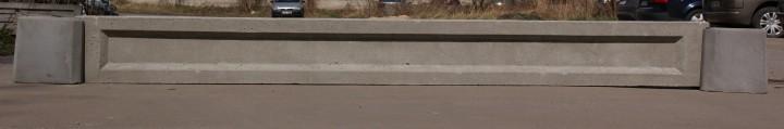 Podmurówka gładka z ramką. Wysokość 20cm, 25cm, 30cm